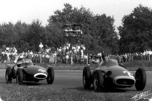 Juan Manuel Fangio, Stirling Moss 1957 Italy