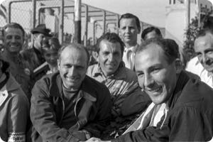 Juan Manuel Fangio, Stirling Moss 1956 Germany