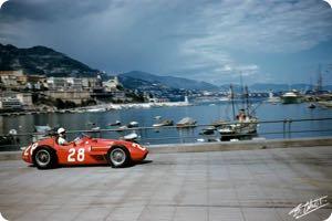 Stirling Moss 1956 Monaco
