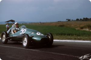 Stirling Moss 1953 France