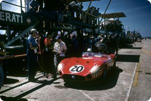 Stirling Moss 1957 Sebring