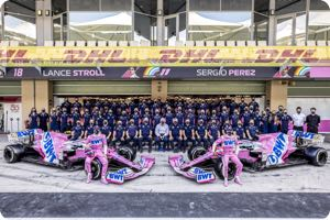 Racing Point-Mercedes team
