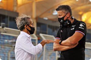Alain Prost, Marcin Budkowski