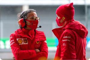 Laurent Mekies, Sebastian Vettel
