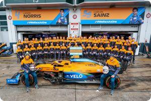 McLaren-Renault team