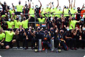 Red Bull-Honda team