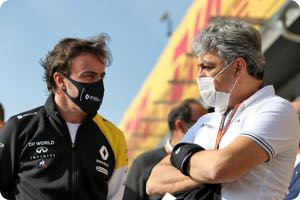 Fernando Alonso, Luca de Meo