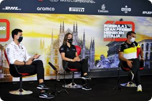 Toto Wolff, Claire Williams, Cyril Abiteboul