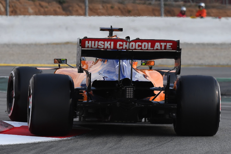 McLaren not ideal says Norris