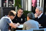 Cyril Abiteboul, Alain Prost , Jerome Stoll