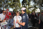 Claire Williams, Sergio Perez
