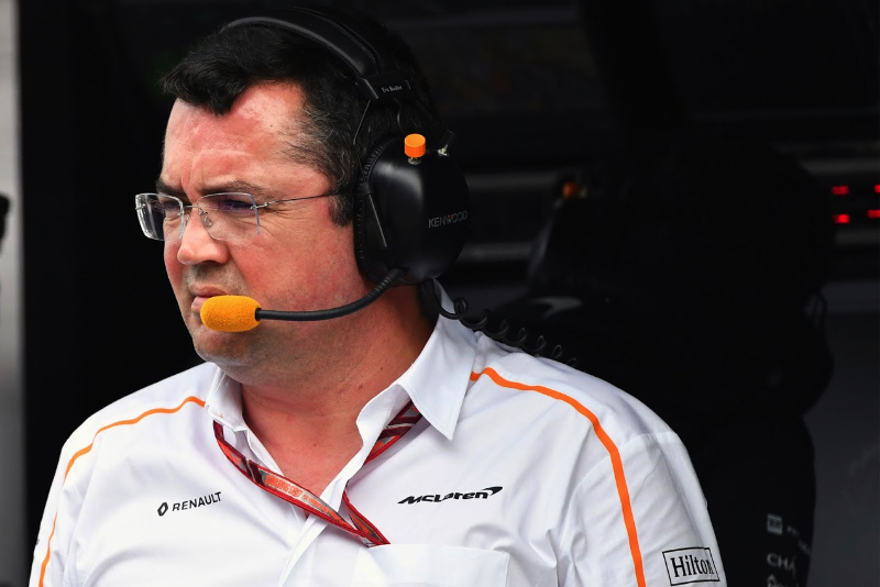 McLaren racing director Eric Boullier resigns days before British Grand Prix