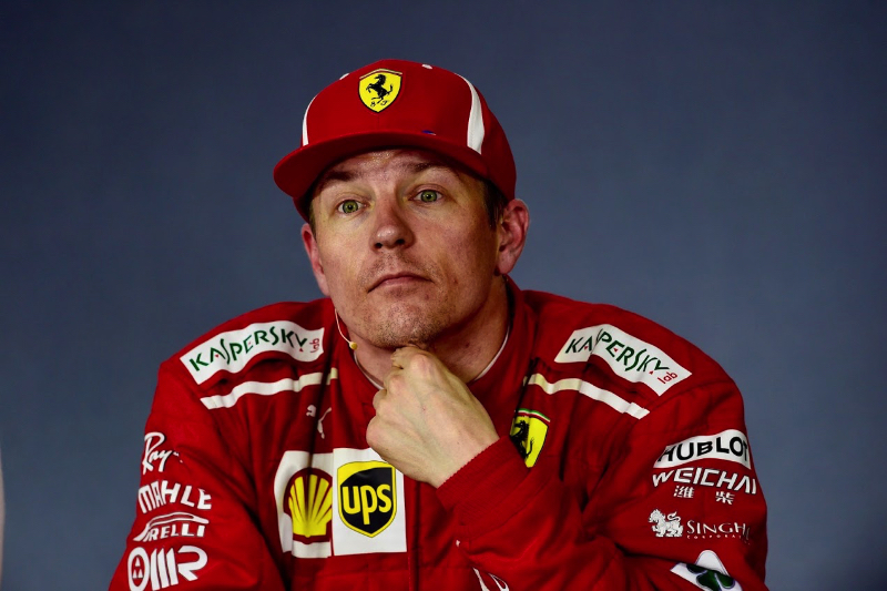 Kimi Raikkonen hit wall 'at full speed' during Azerbaijan GP restart