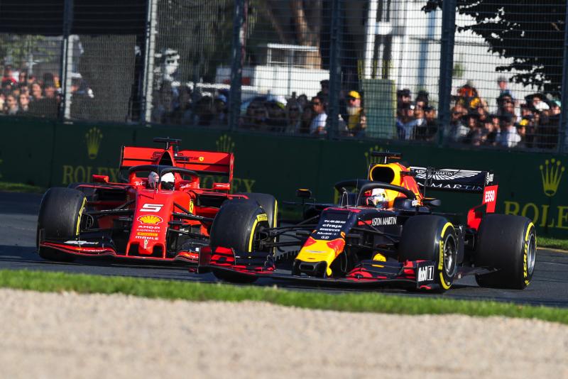 Red Bull Not Looking Behind At Ferrari Says Marko