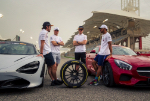 Fernando Alonso, Valtteri Bottas, Lewis Hamilton, Stoffel Vandoorne