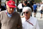 Niki Lauda, Bernie Ecclestone
