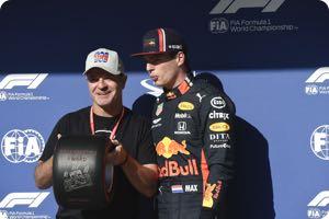Rubens Barrichello, Max Verstappen