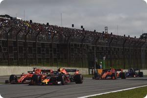 Sebastian Vettel, Alex Albon