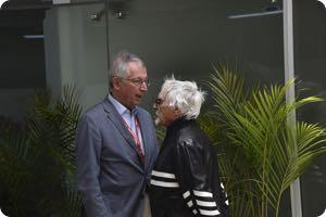 Tamas Rohony, Bernie Ecclestone