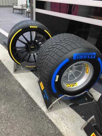 2019 Pirelli prototype