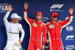 Valtteri Bottas, Sebastian Vettel, Kimi Raikkonen