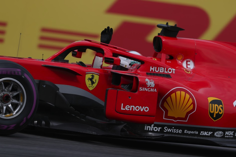 F1: Sebastian Vettel penalized three-grid spots in controversial call at COTA