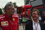 Mauricio Arrivabene, Louis Camilleri, CEO Ferrari