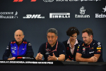 Franz Tost, Toyoharu Tanabe, Christian Horner