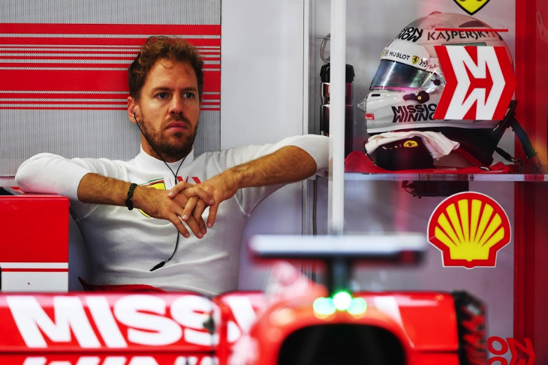 Sebastian Vettel concedes defeat in F1 drivers' title battle