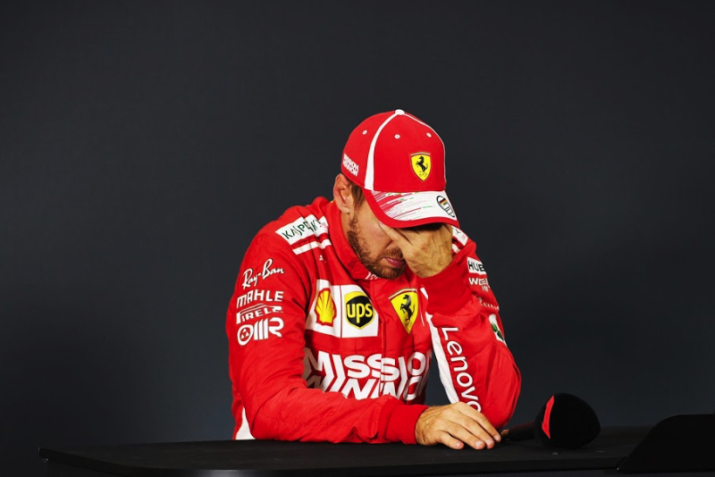 6e6bb9b465 Sunday Press Conference. Sebastian Vettel ...