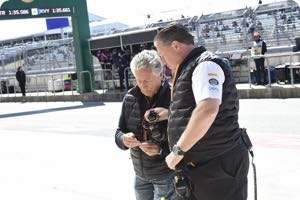 Mario Andretti, Zak Brown